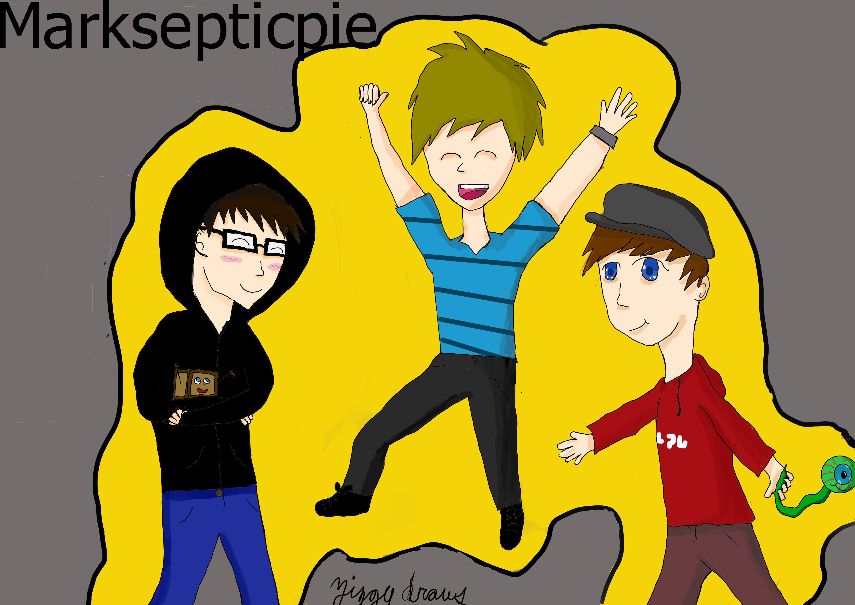 markiplier,jacksepticeye,and pewdiepie