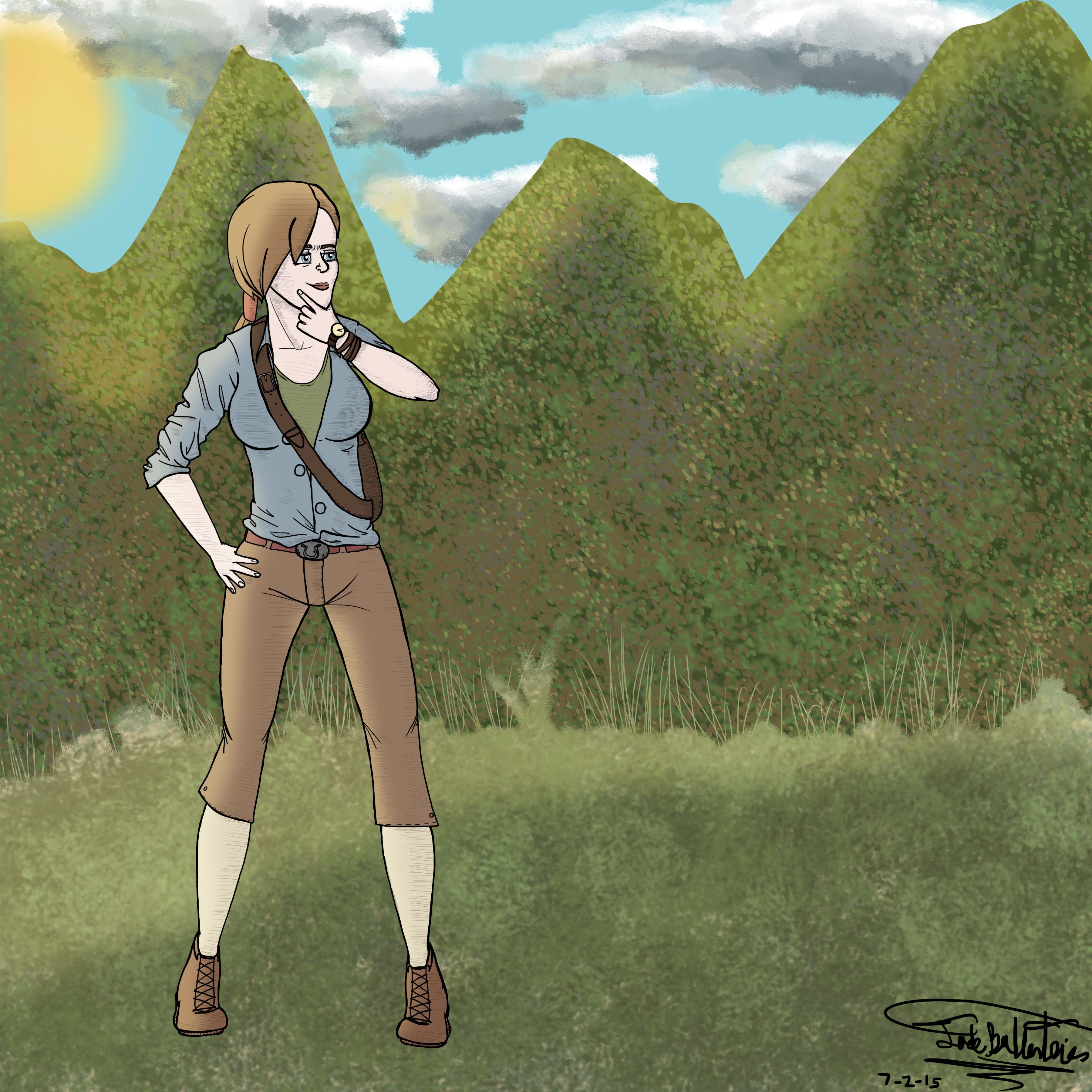Adventure Lady (ArtTrade)