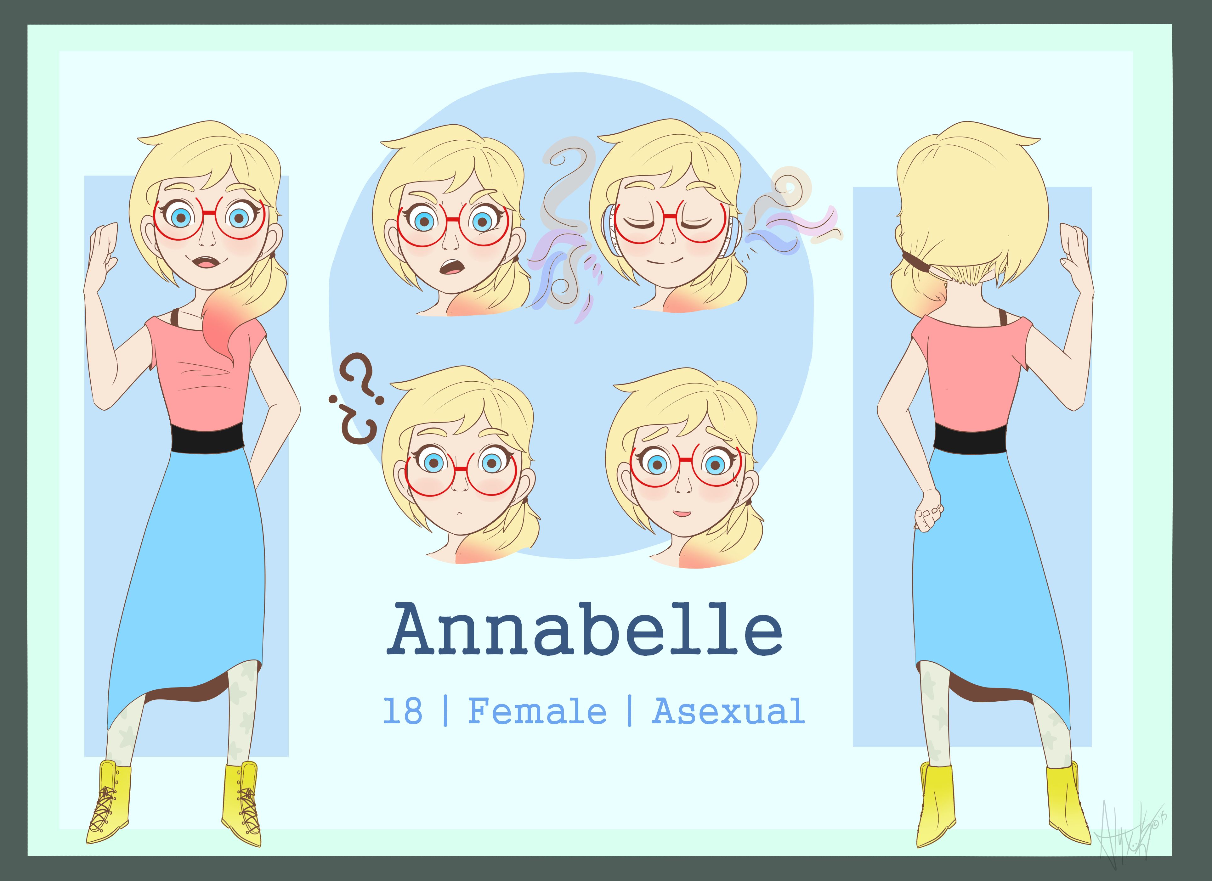 Annabelle Reference sheet 2015