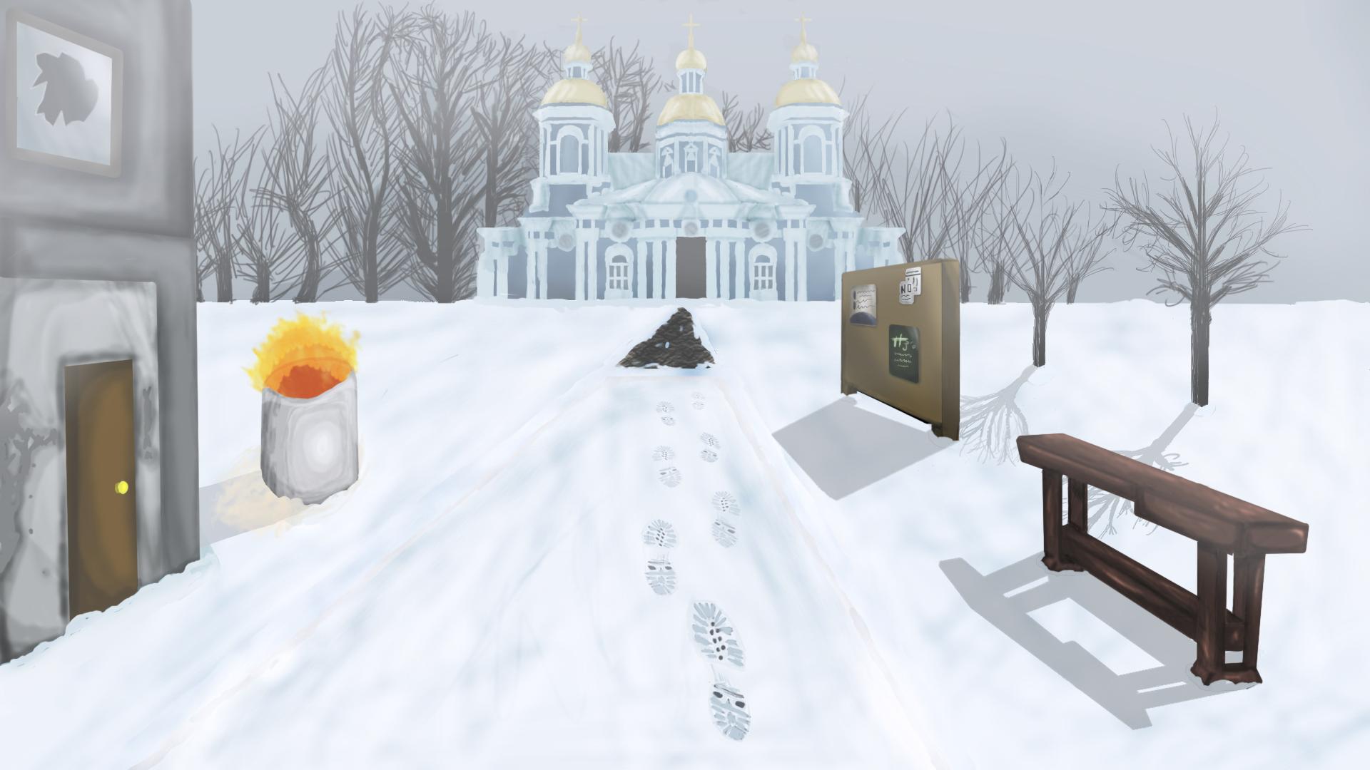 Post-Apocalyptic Saint Petersburg