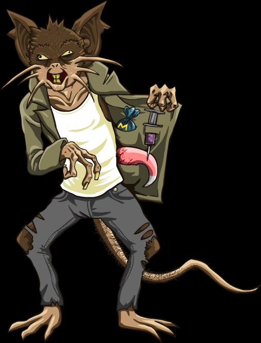 PIKABITCH - Ratticate the Drug dealer