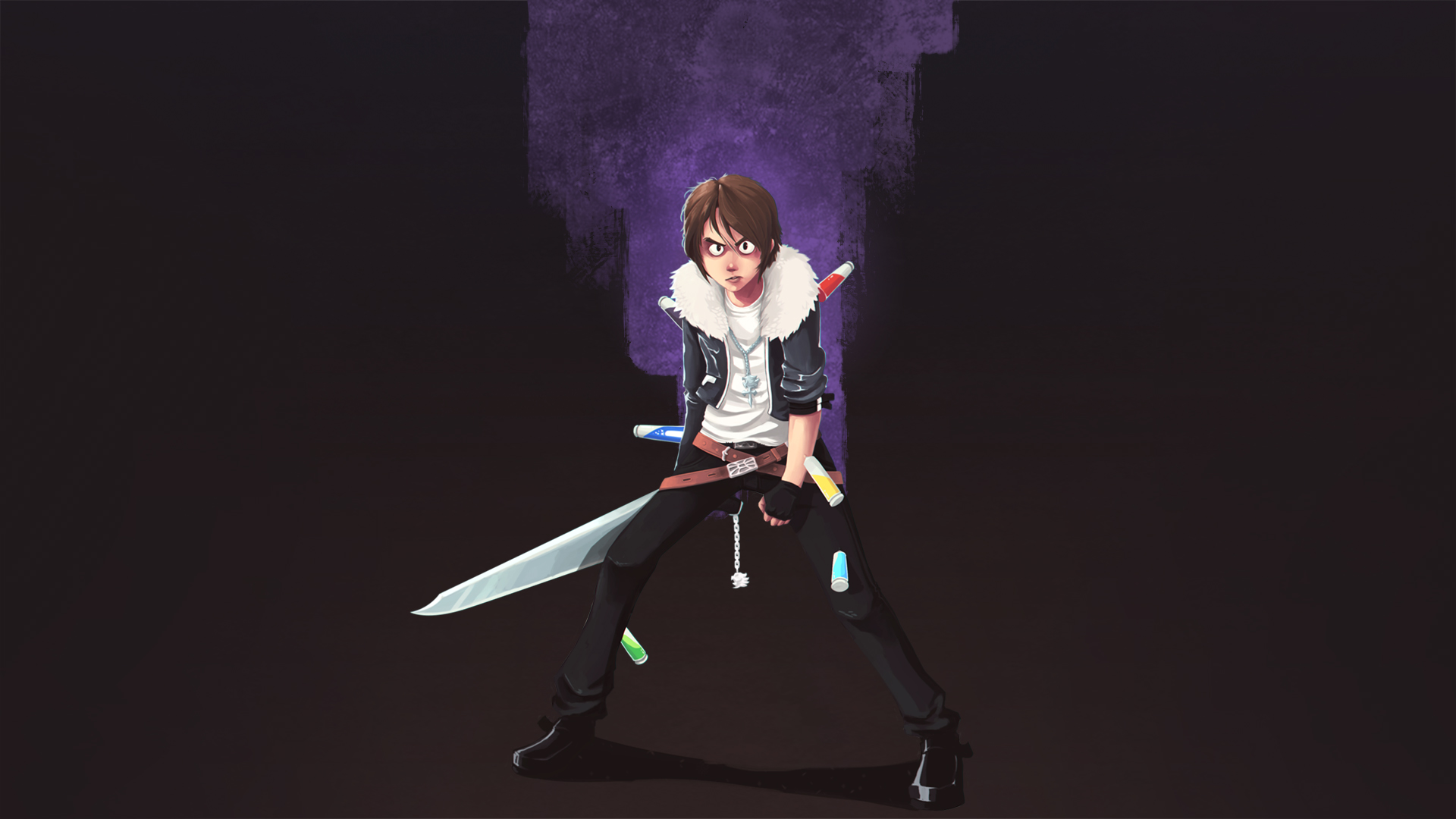 Squall - FF8 Junction System