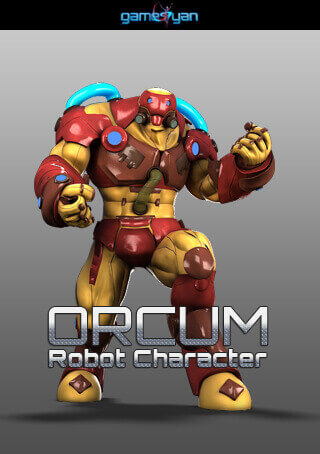 Orcum Robot Character Modeling