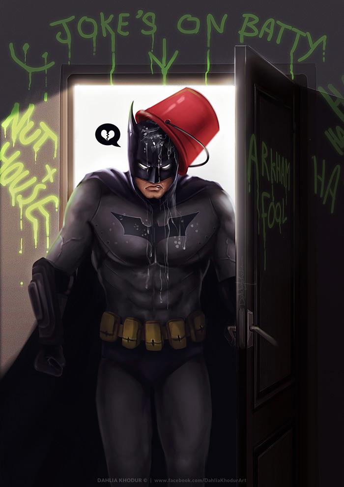 Joke's on Batty!