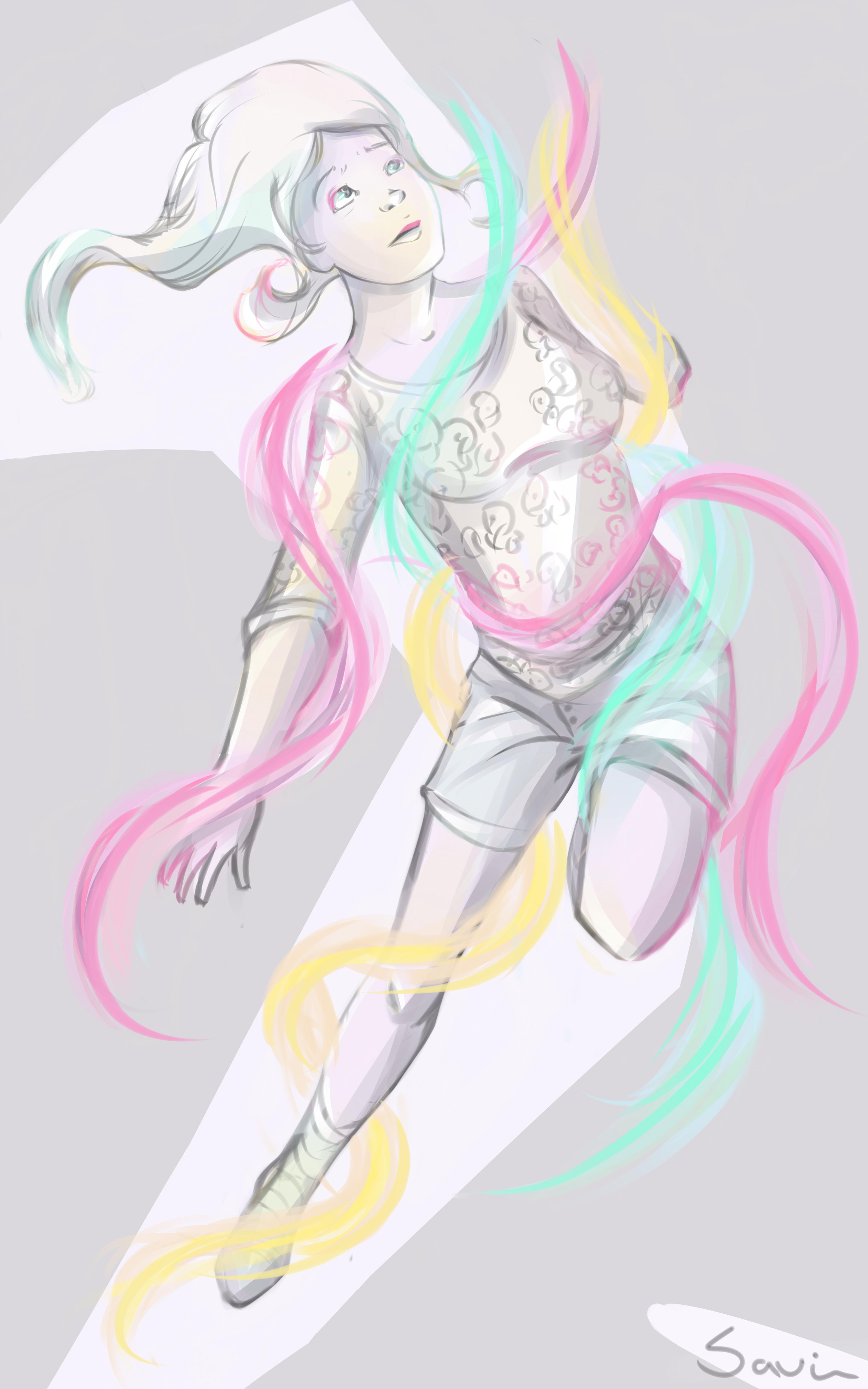 Ray Lights Girl
