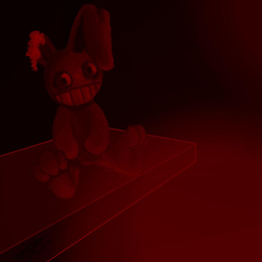 Creepy Bunny Doll