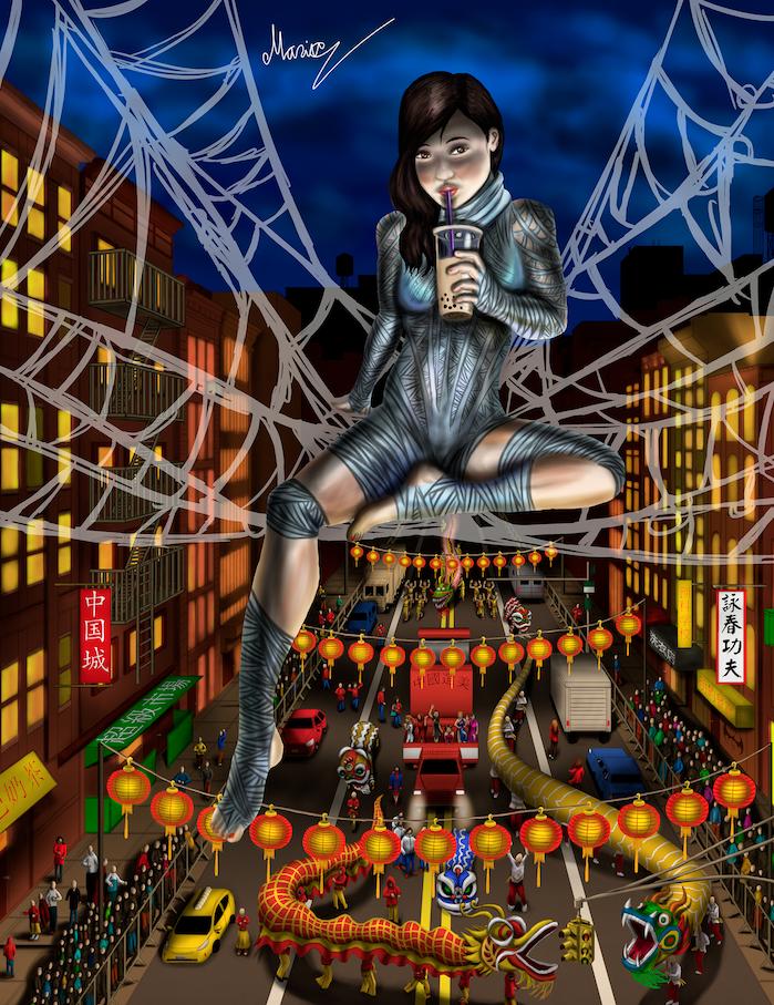 Silk Above Chinatown