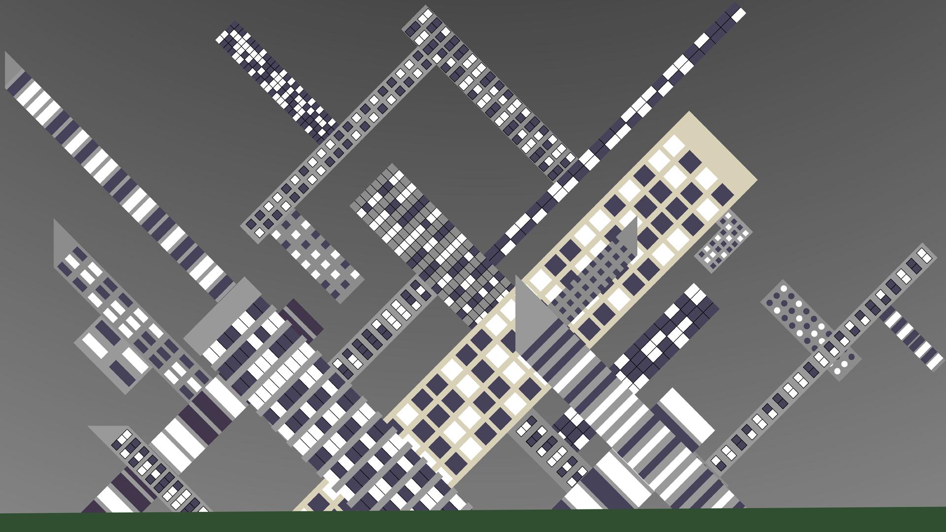 Tilted Buildings