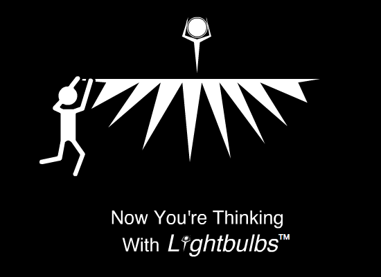Closure Promo Art: Lightbulbs