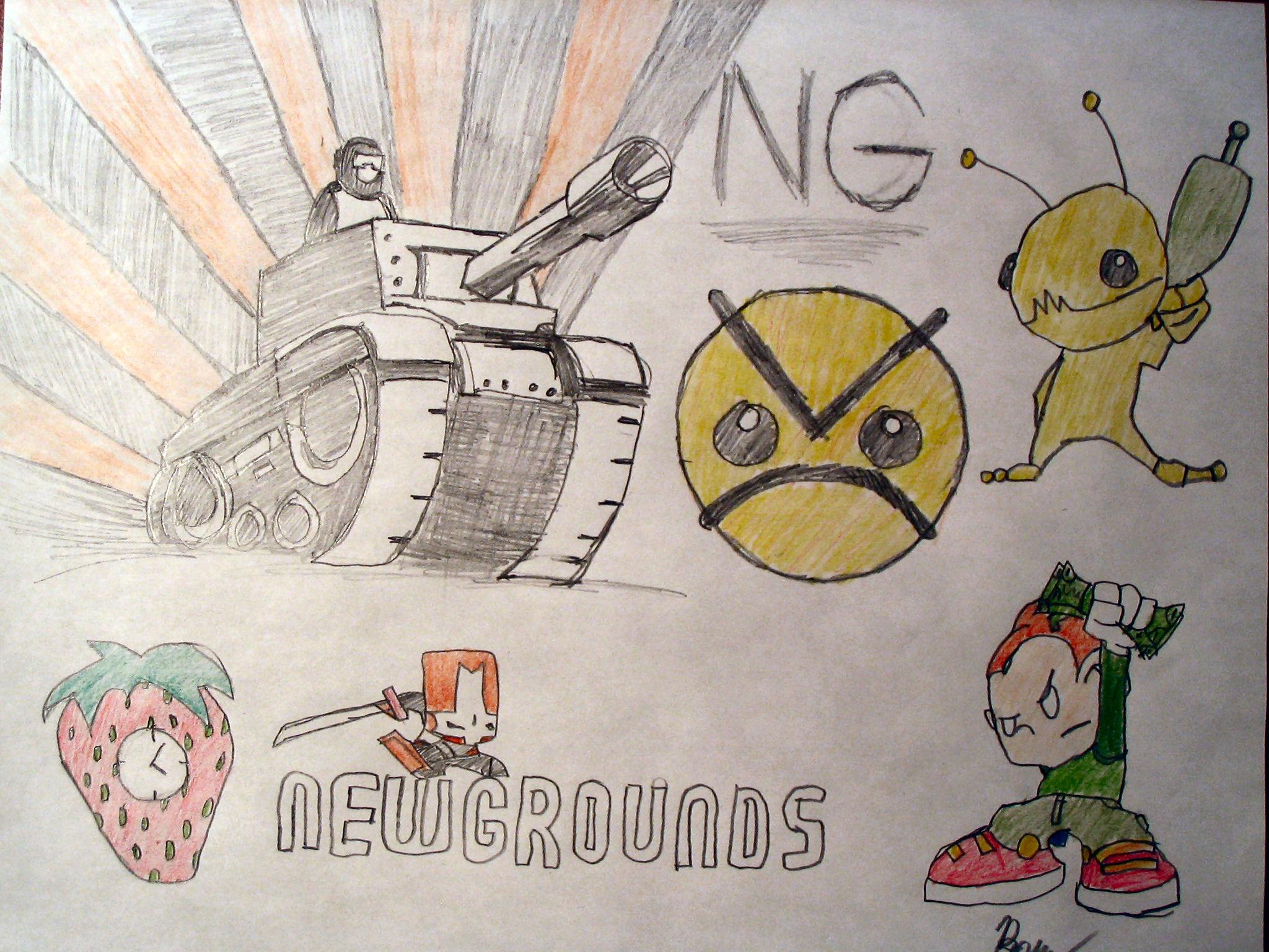 Newgrounds Collage