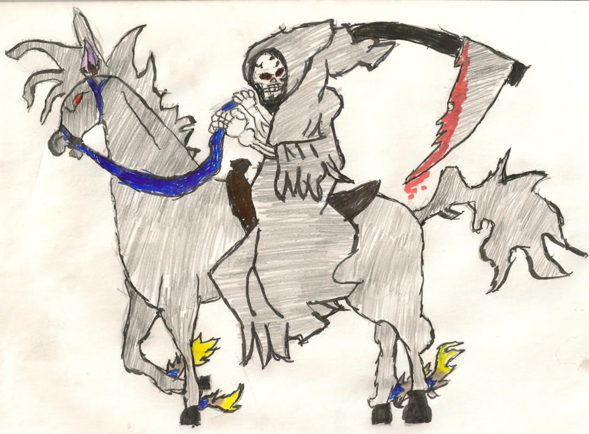 death on horse
