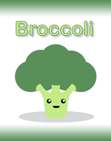 Broccoli if you please