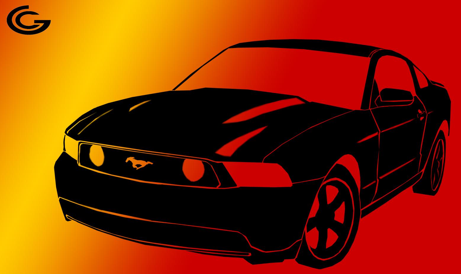 Mustang shadow