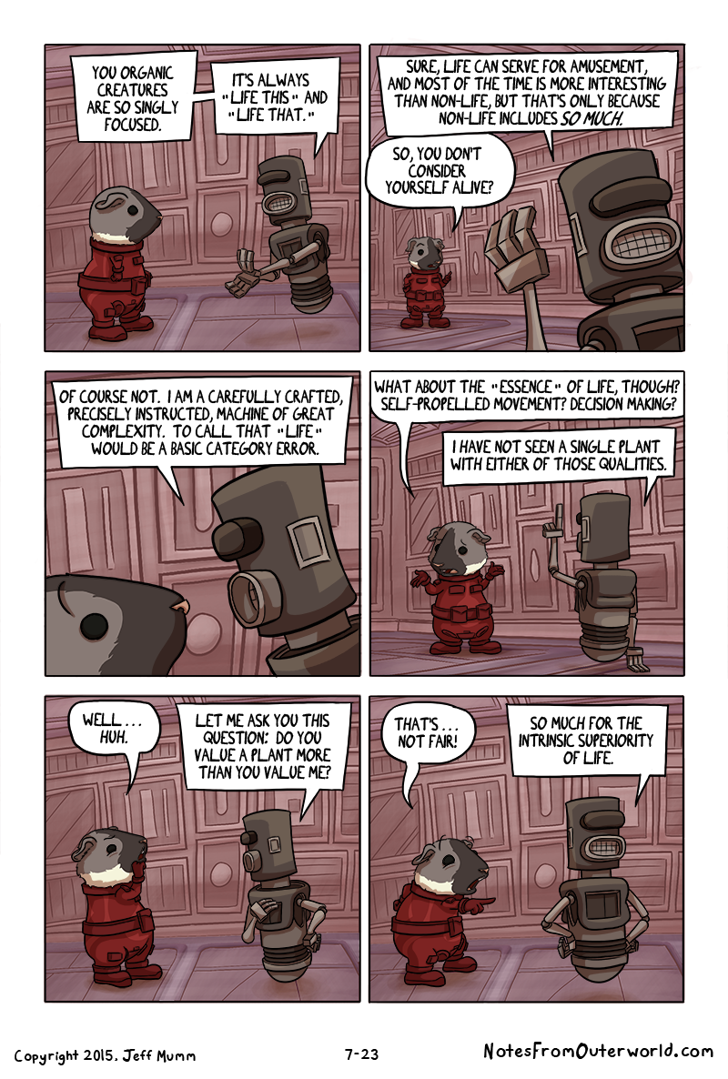 Notes from Outerworld, Chapter 7, Page 23