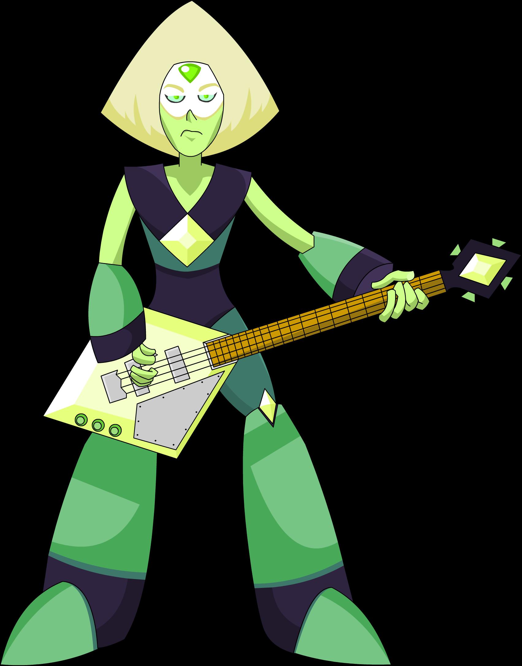 Peridot plays bass