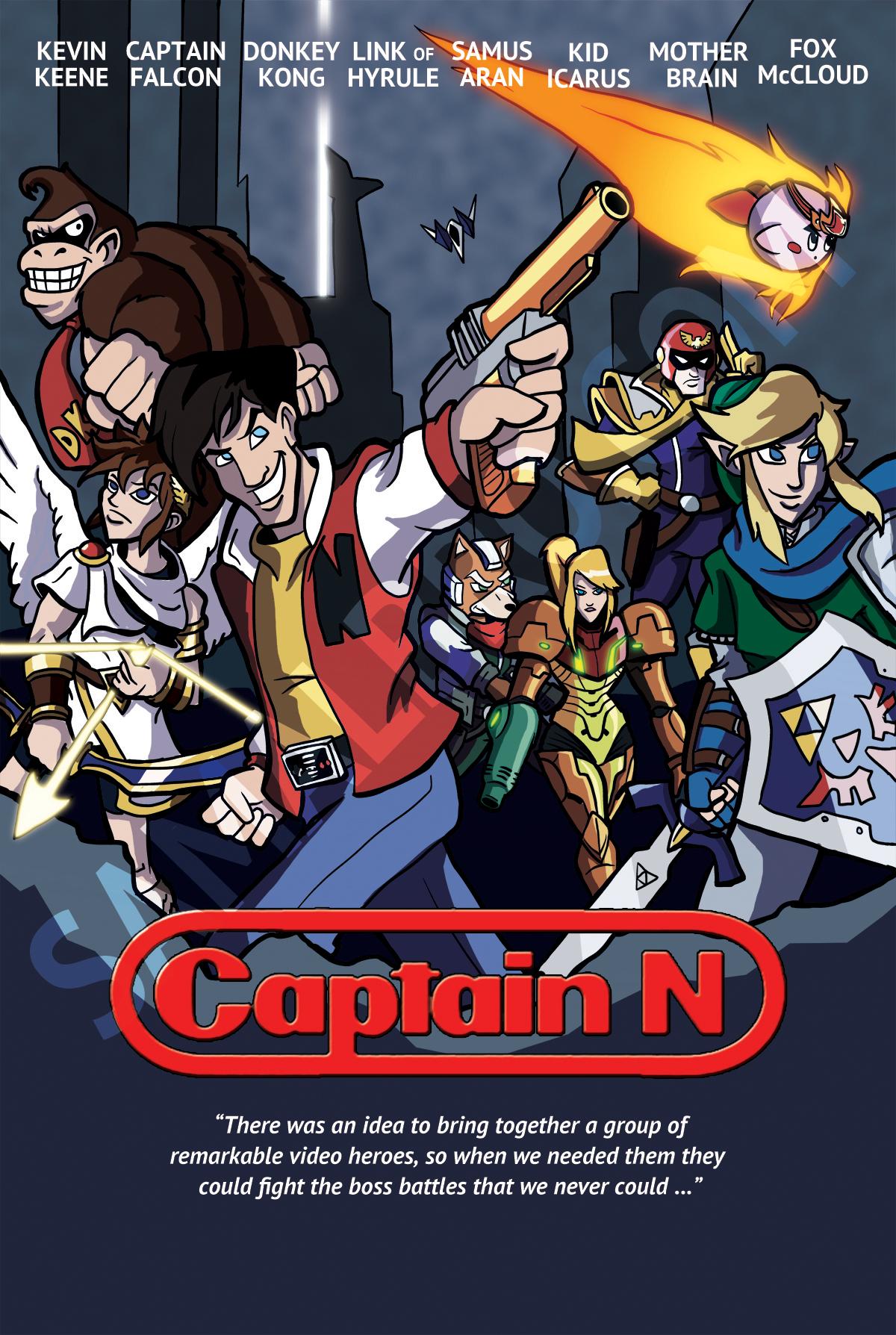 Captain N Avengers