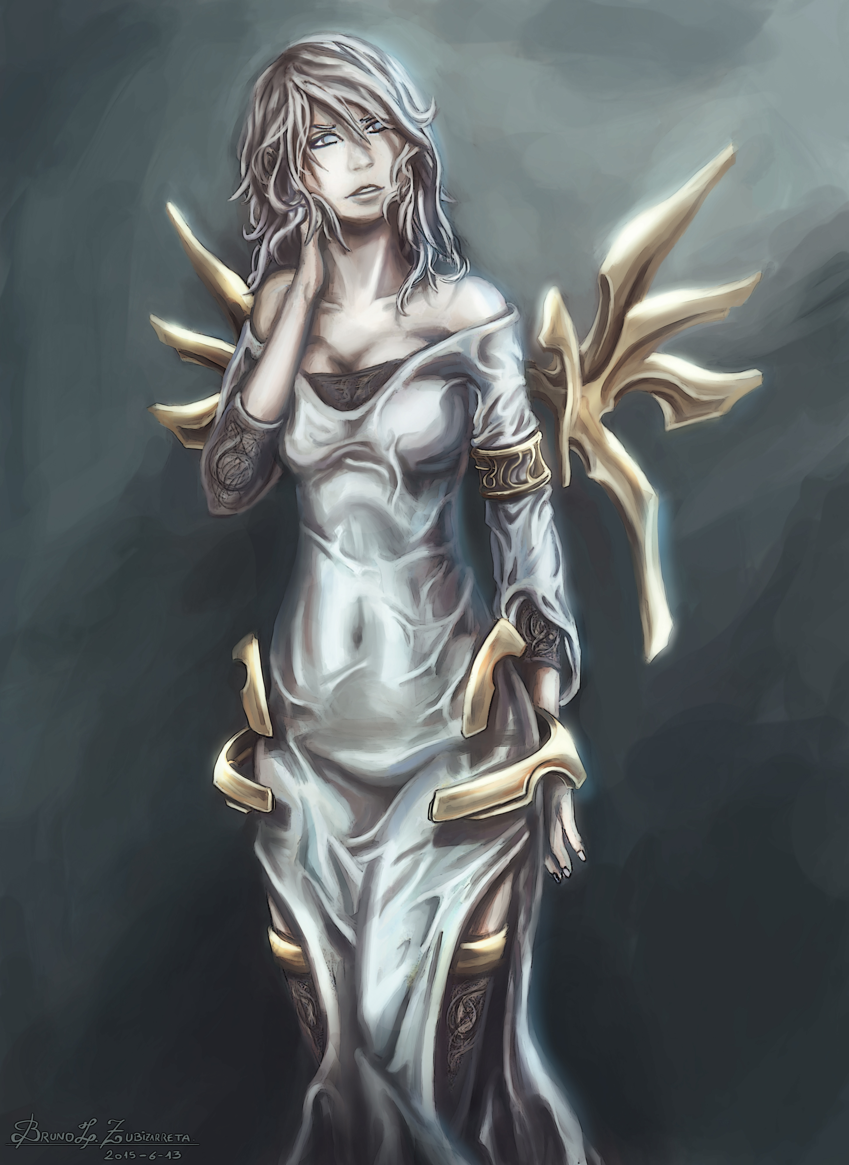 dress and armor