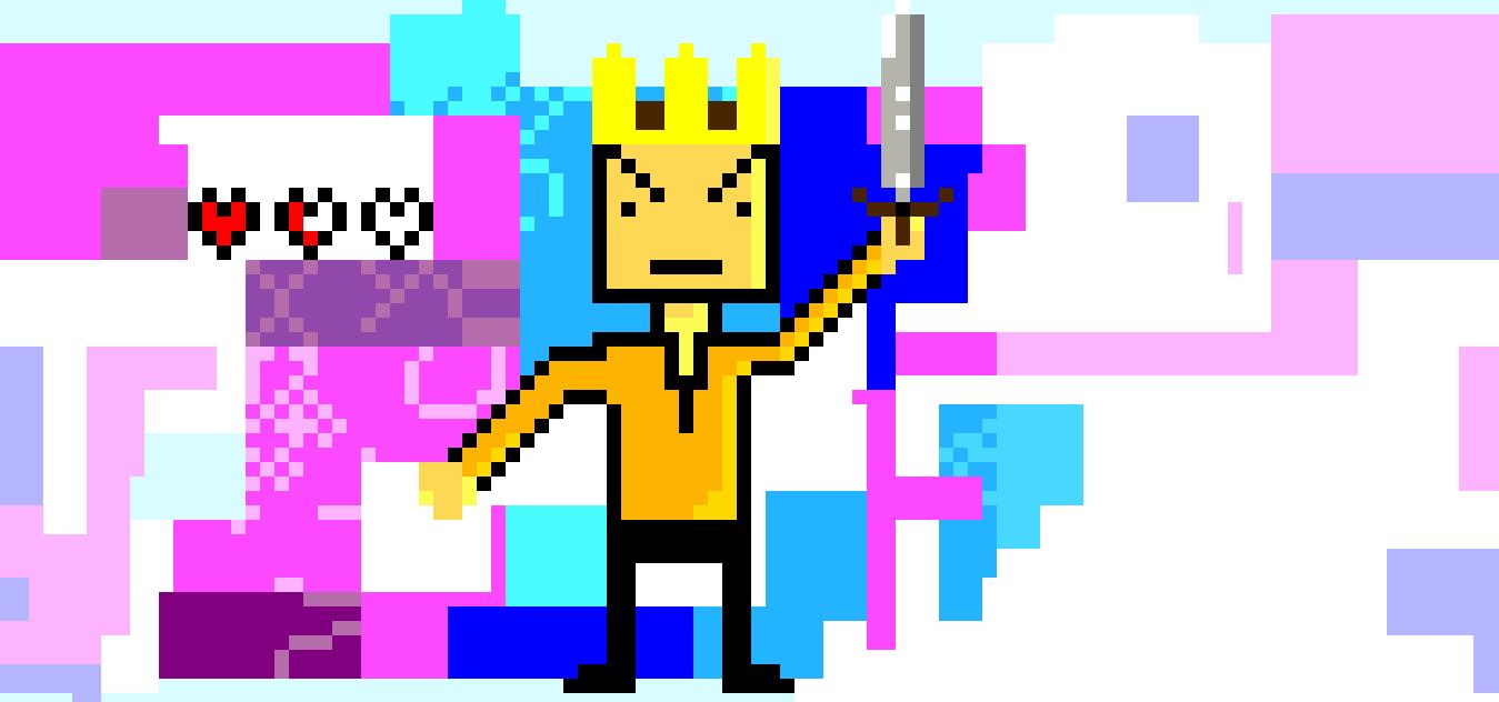 8-bit King