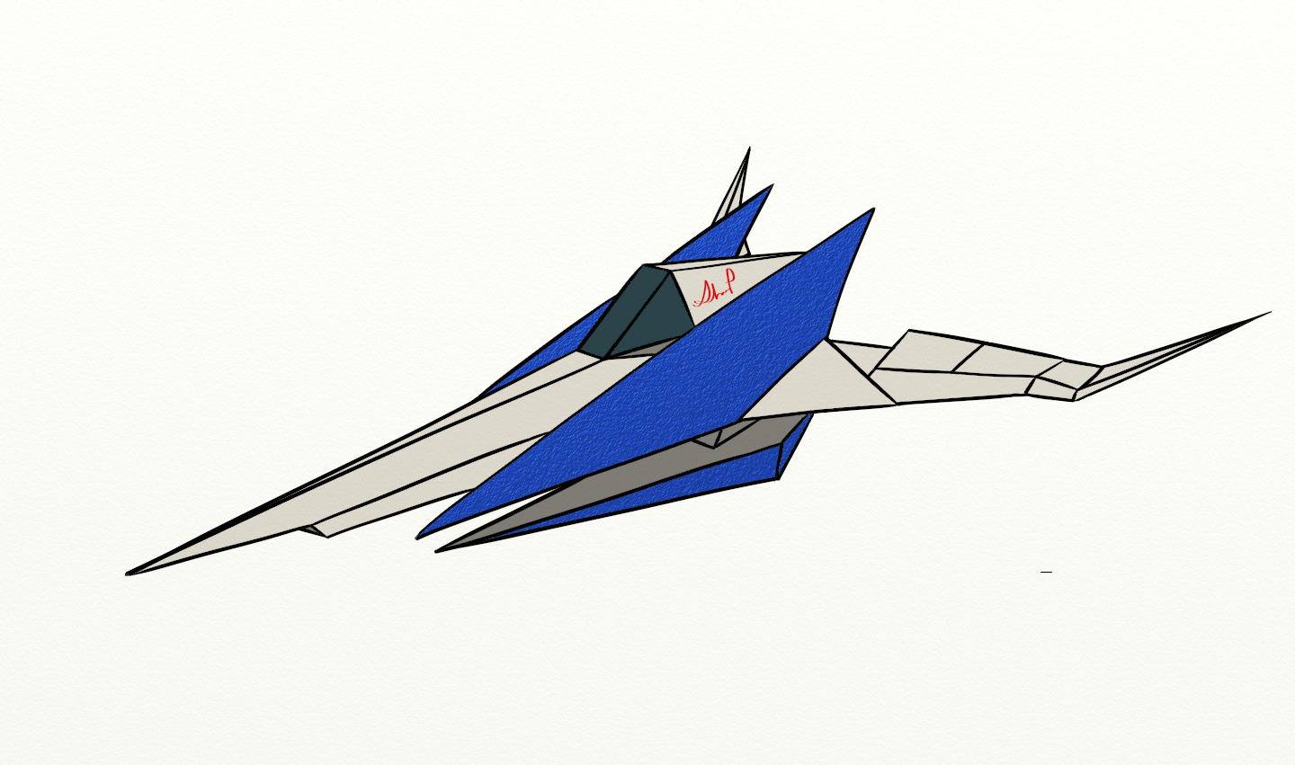 Arwing Sketch