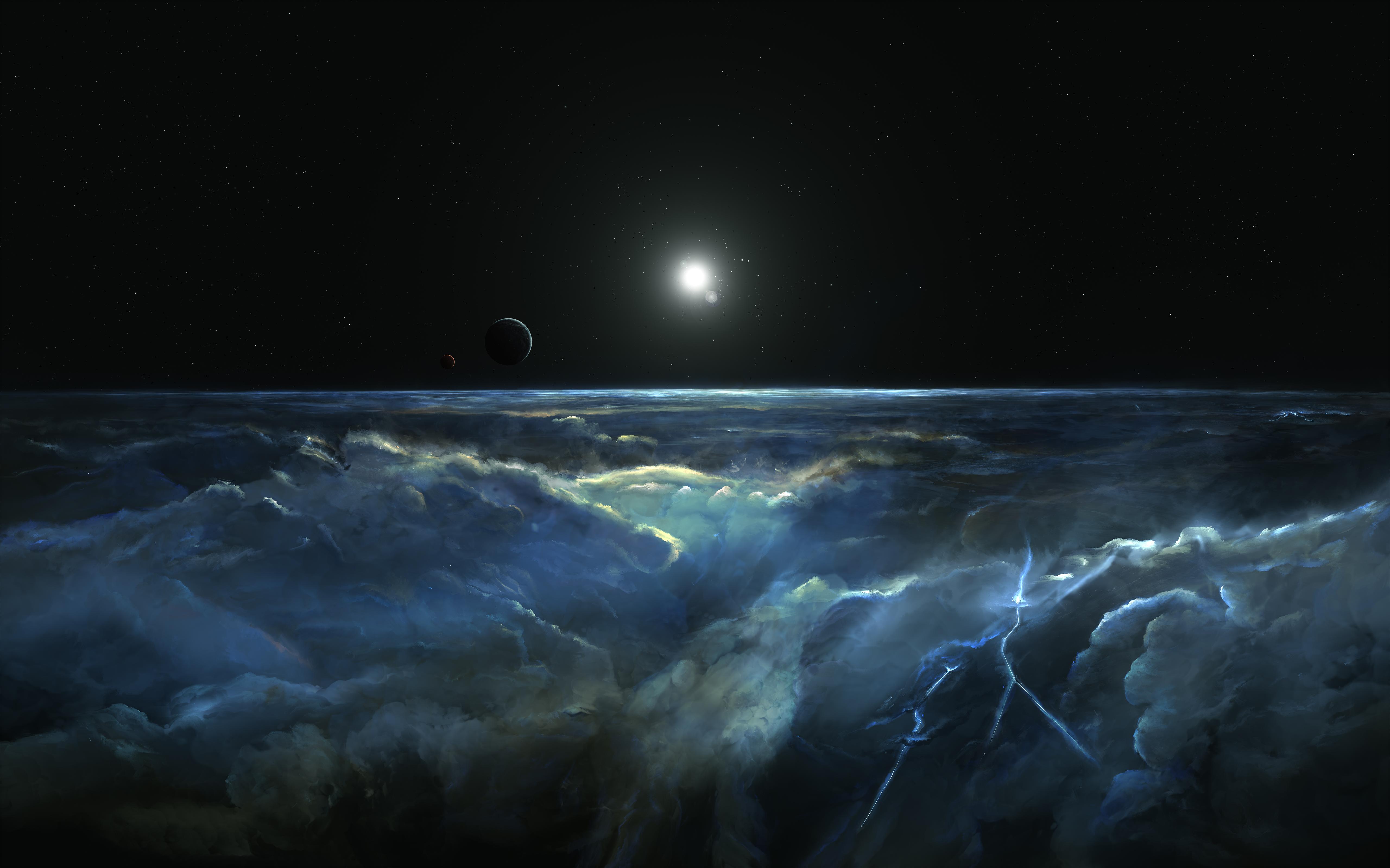Stormy Atmosphere of Merphlyn