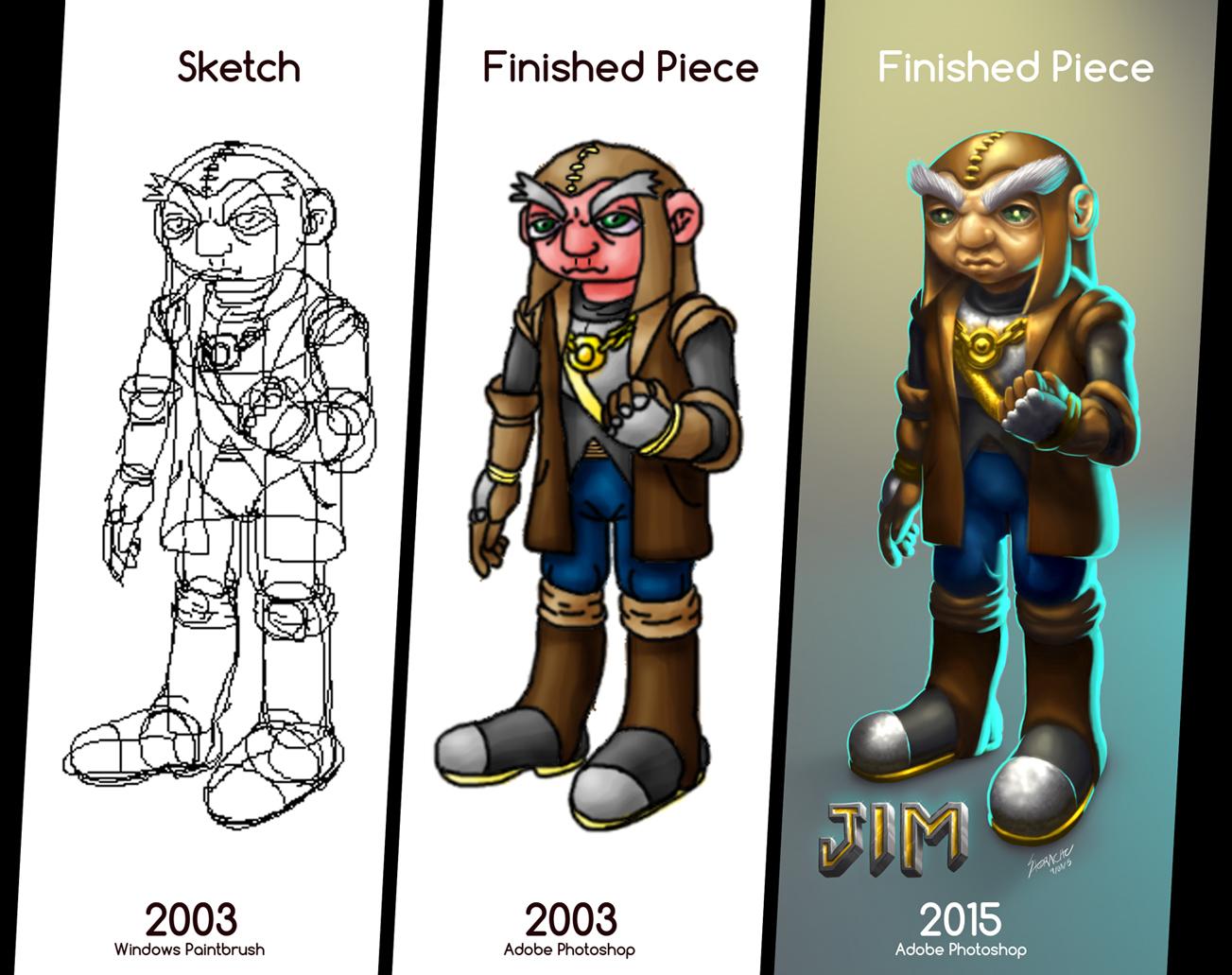 Jim the dwarf comparison