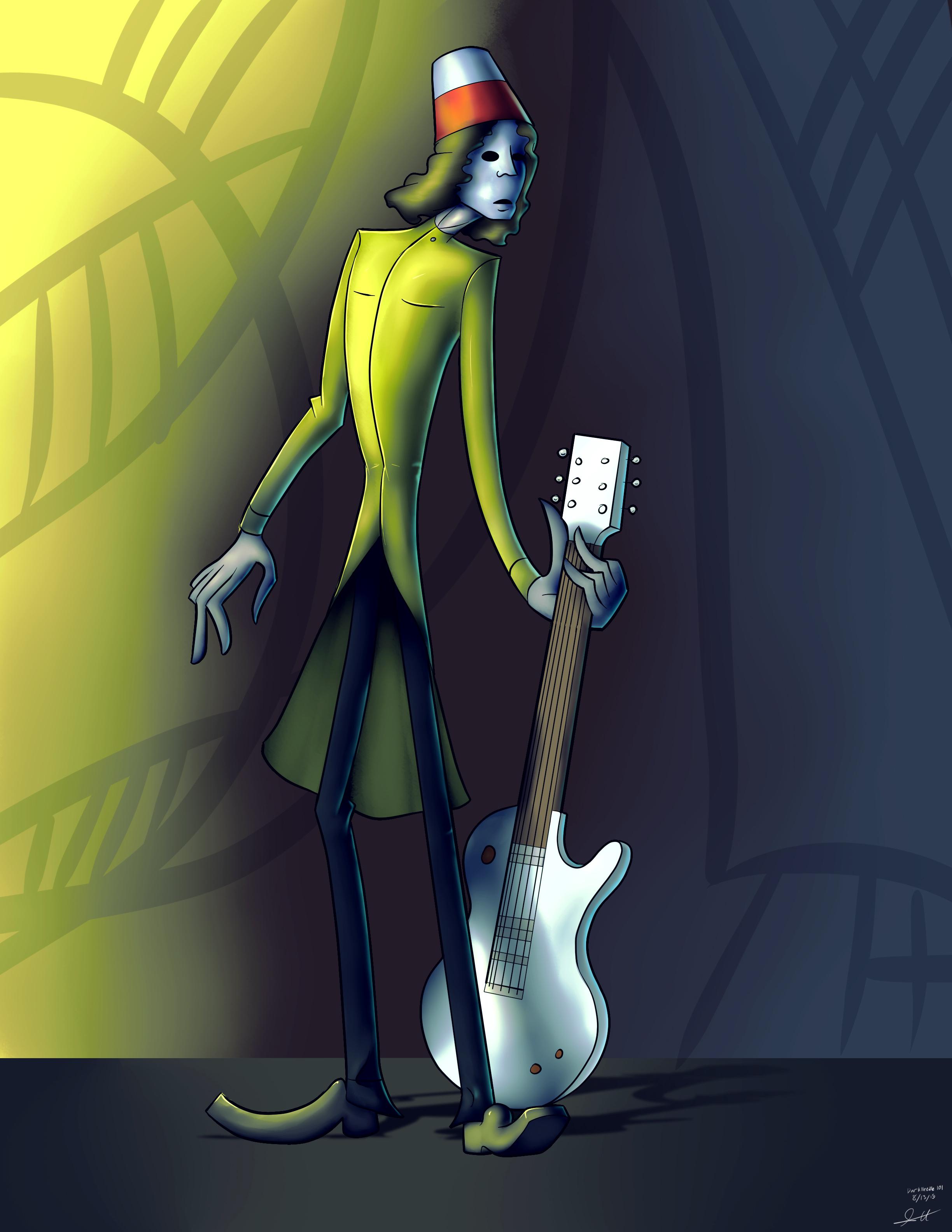 Character: Buckethead