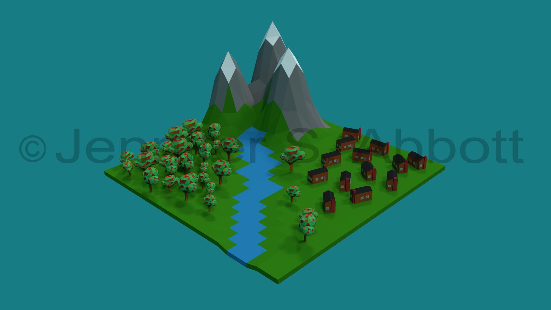 Valley Community (3D)