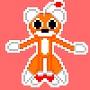 Tails doll sprite art