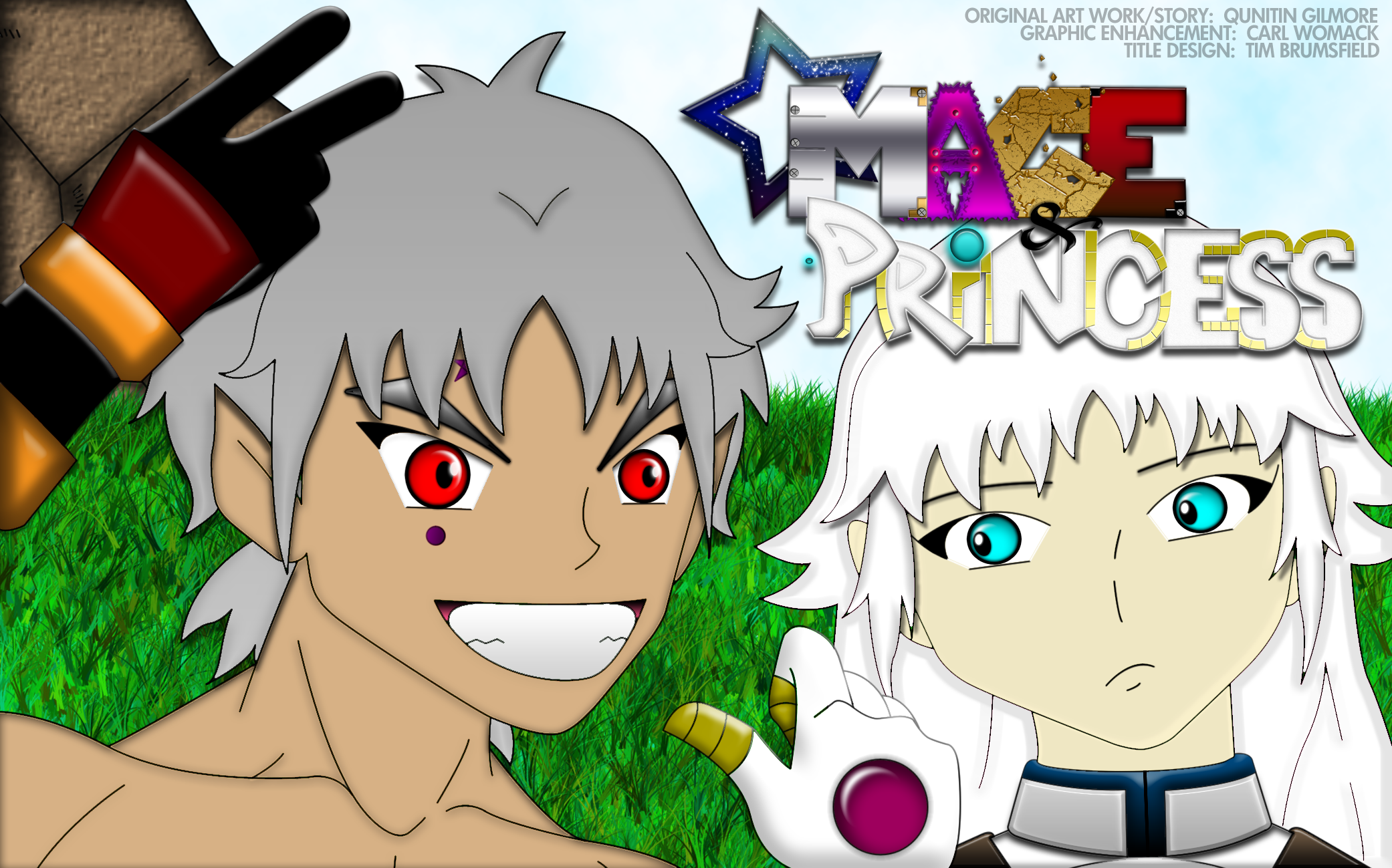 """Mage & Princess"" Cover Art"
