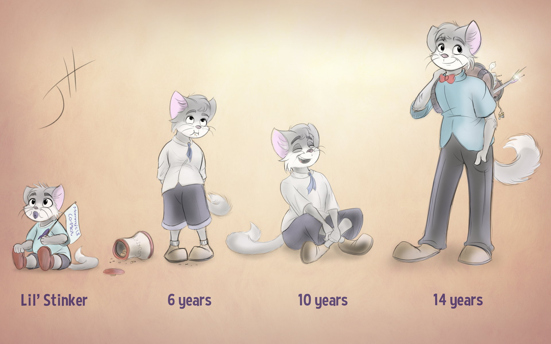 The Ages of Enzo