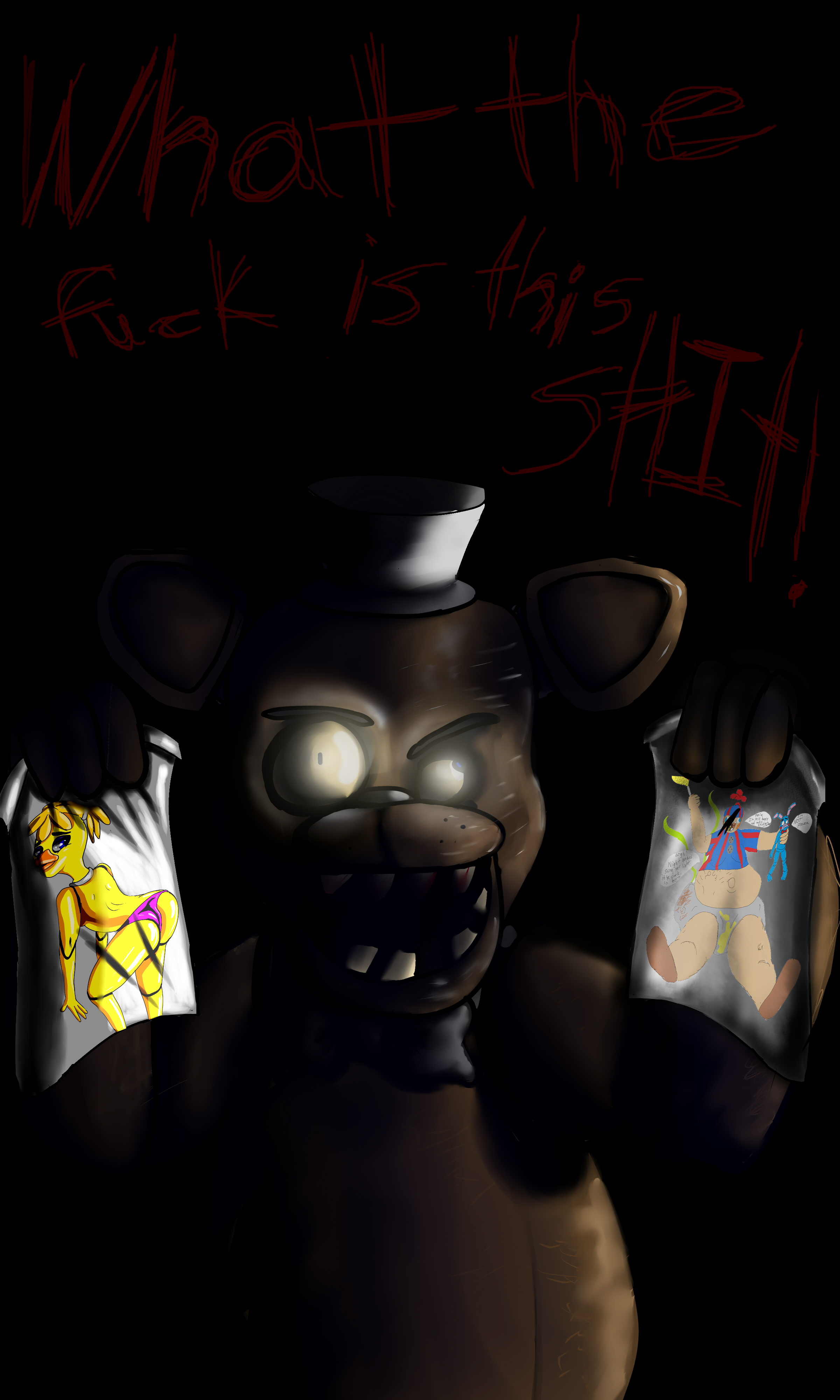 Freddy Fazbear is Pissed