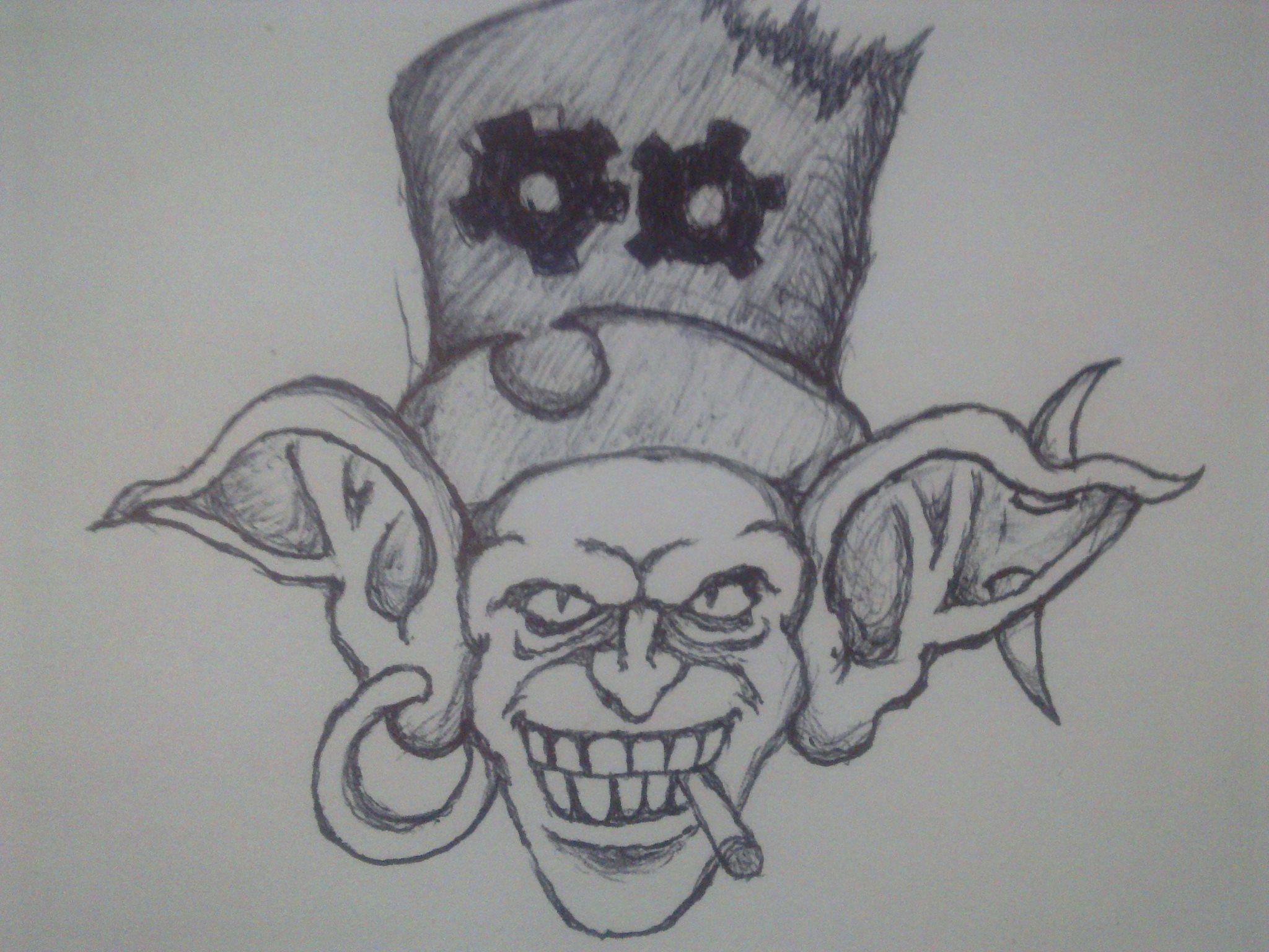 World of Warcraft's goblin doodle