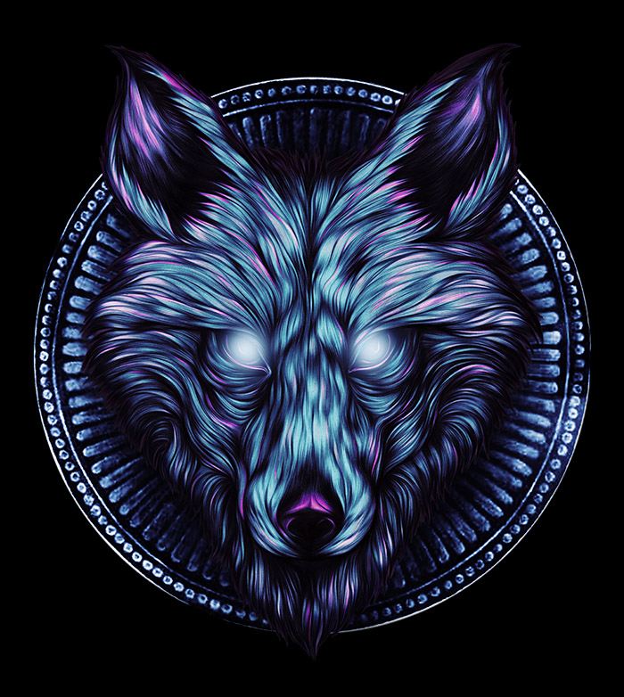 The Lone Wolf (Blue)