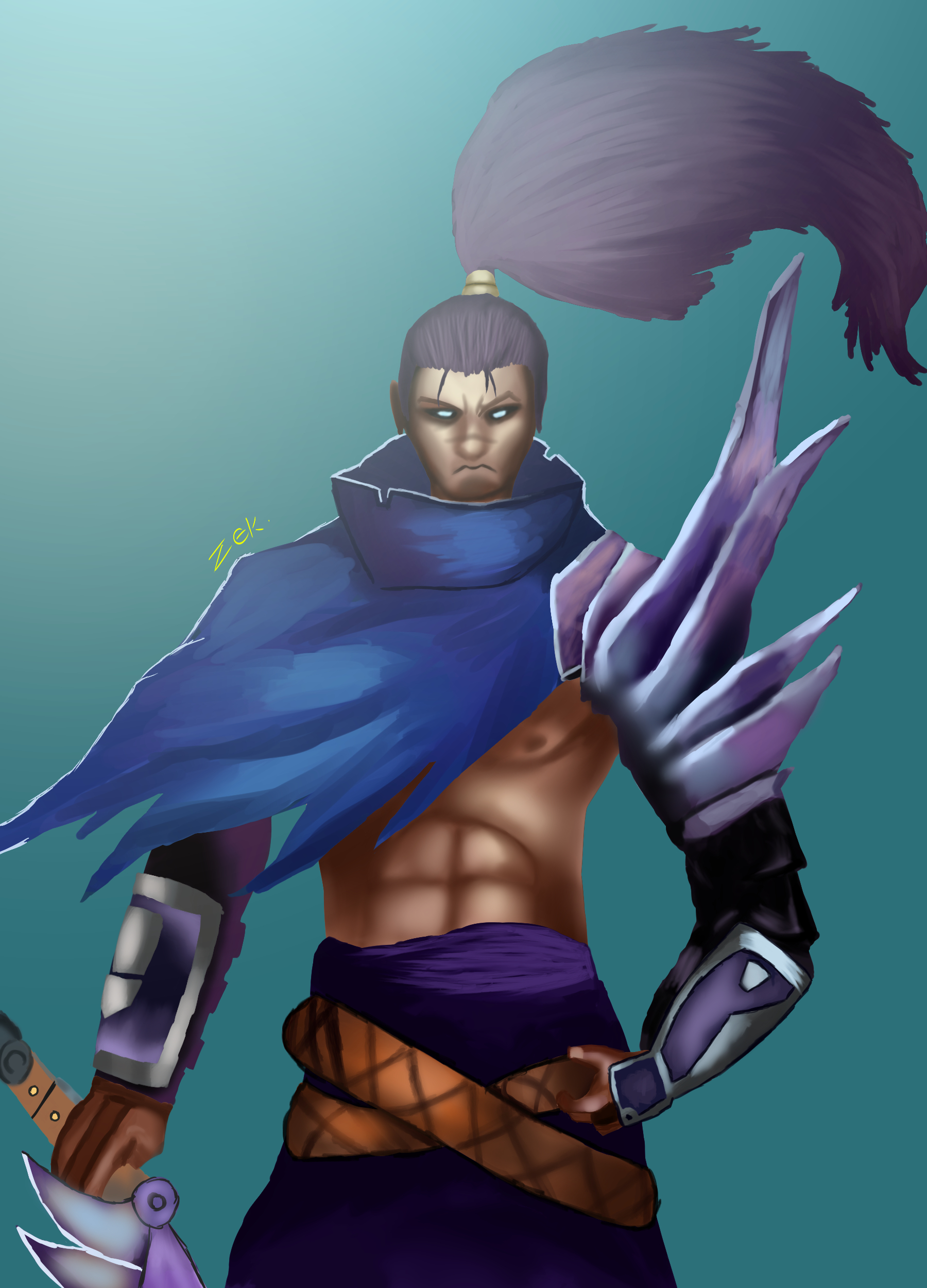 Yasuo- from league of legends