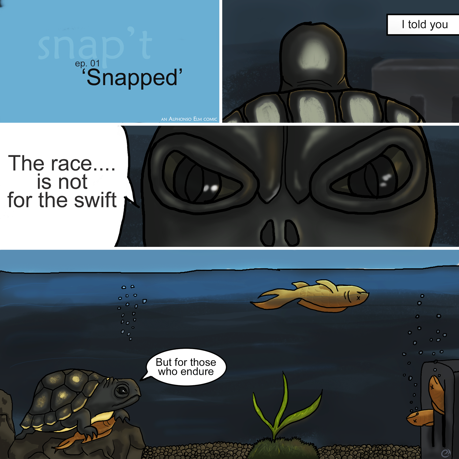 Snap't Episode 1: 'Snapped'