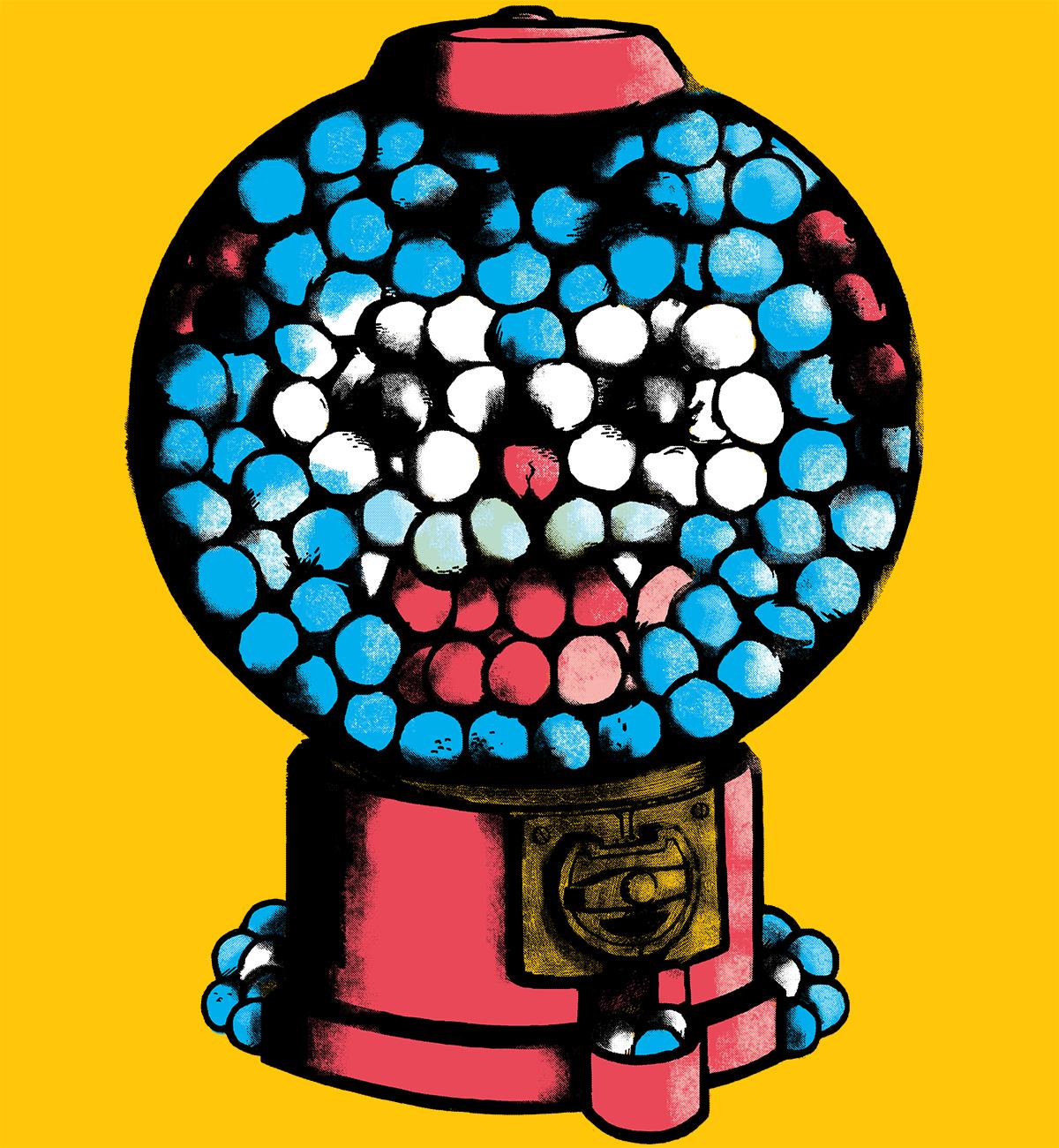 The Amazing World of Gumball Machines