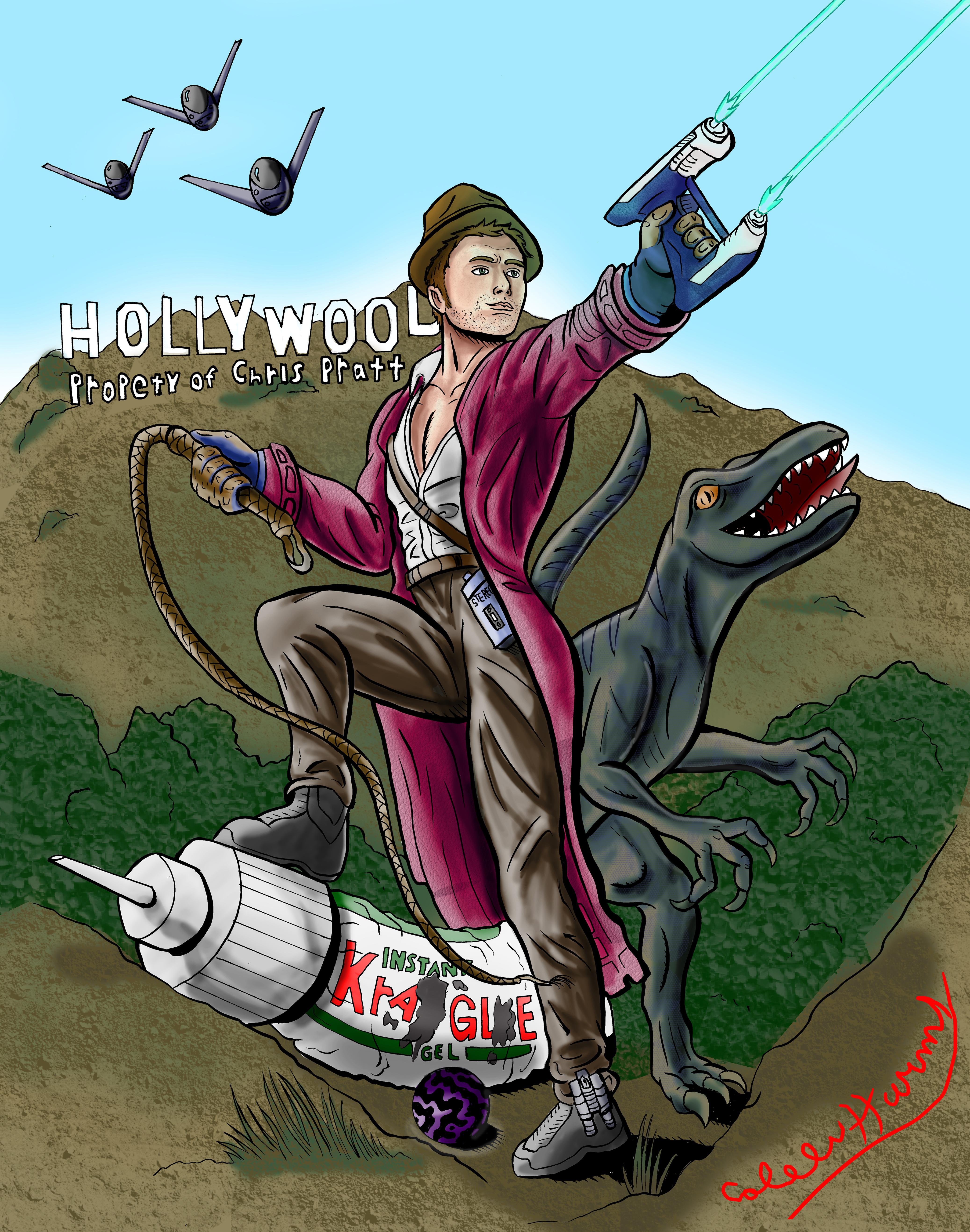 Hollywood, Property of Chris Pratt