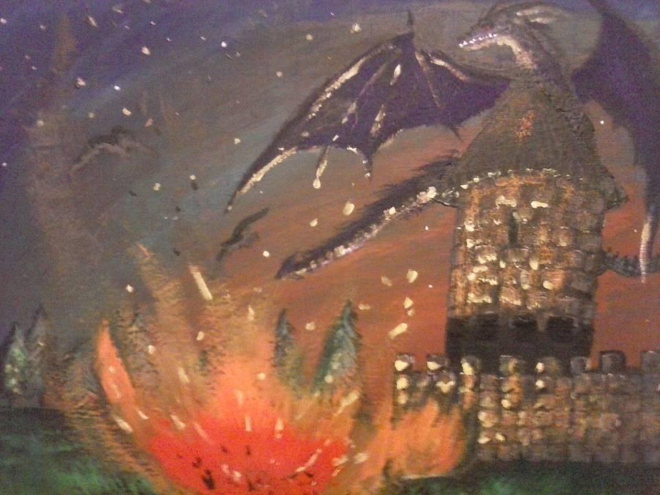 Dragon Castle Flame