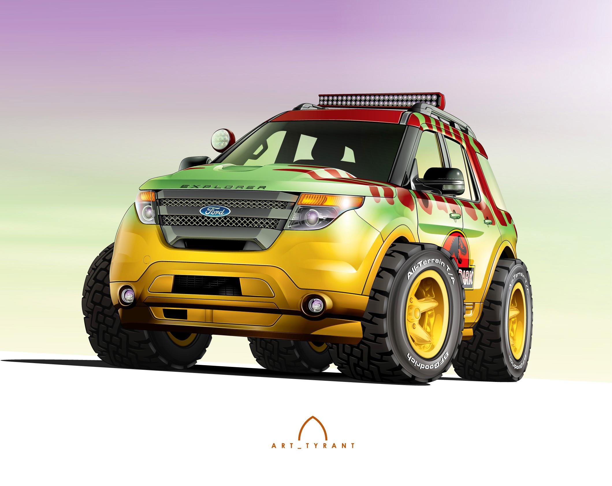 2015 Ford Explorer - Jurassic Park