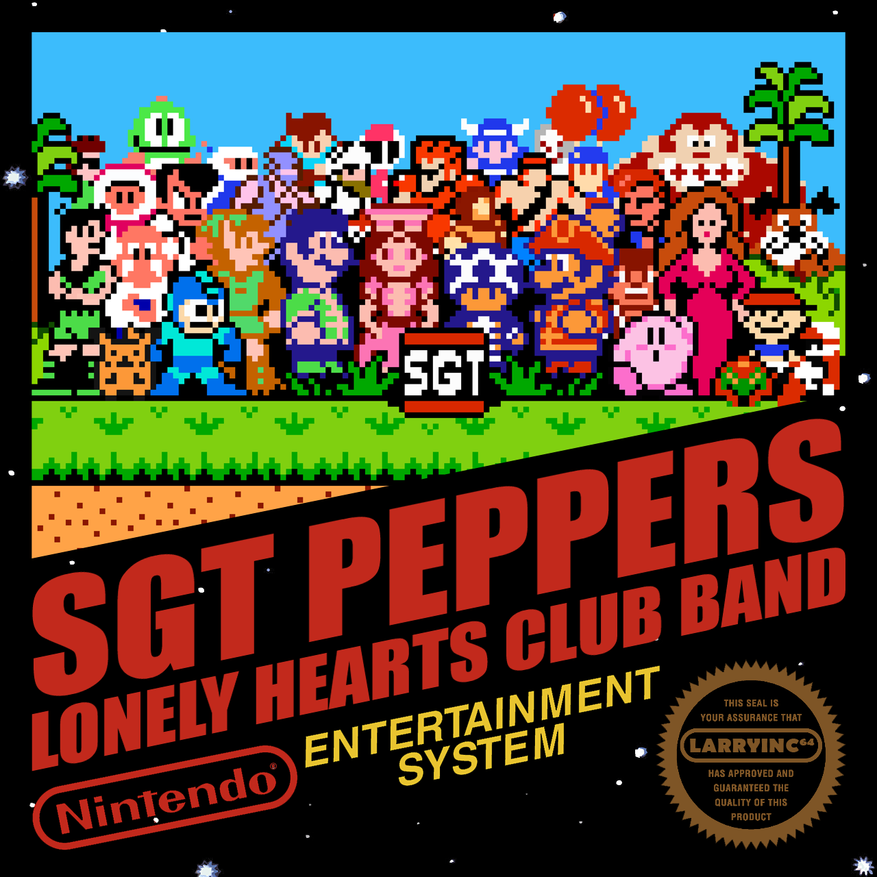The Beatles - Sgt. Pepper NES