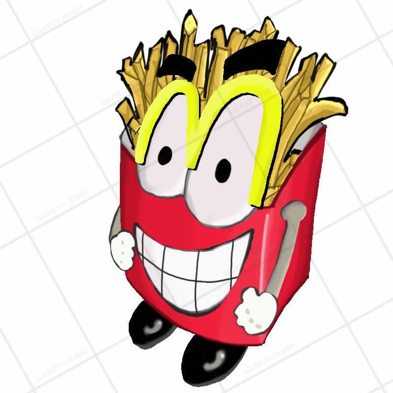 Mr Chip - Mini Boss (FATMAN GAME)