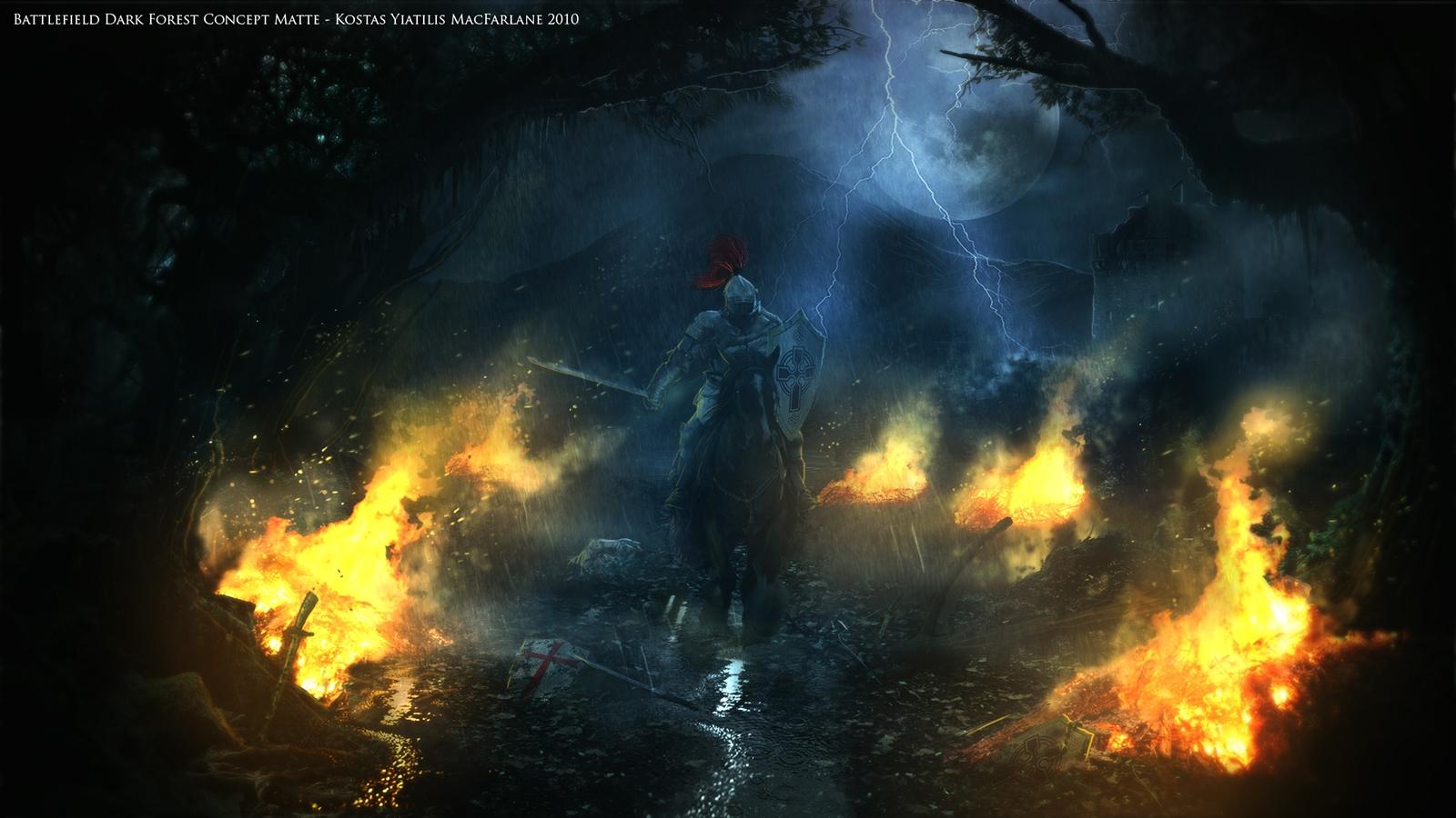 Knight in the night