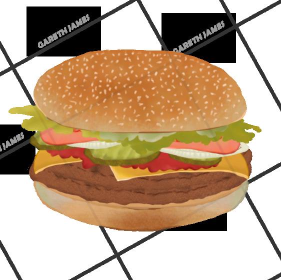Big King Burger - FATMAN GAME