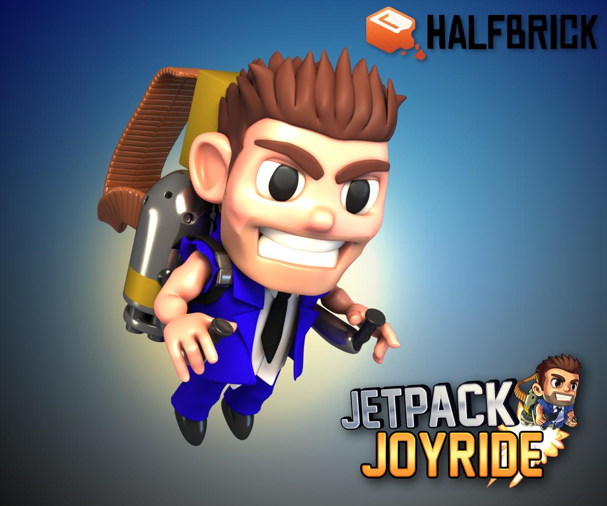 Jetpack Joyride Fan Art