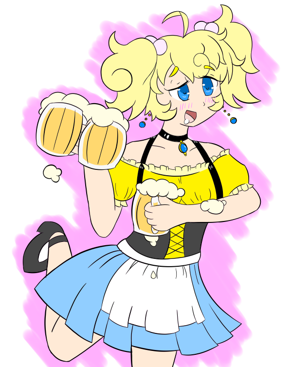 Dizzy Beer Maiden