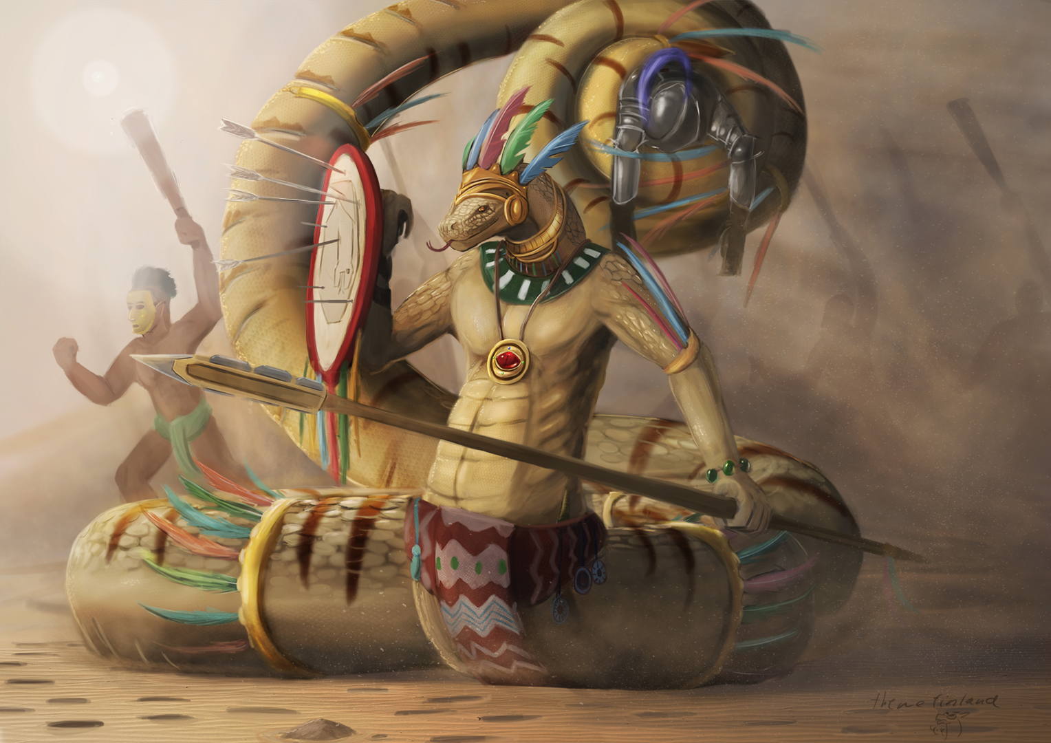 Ascended high priest of Quetzalcoatl