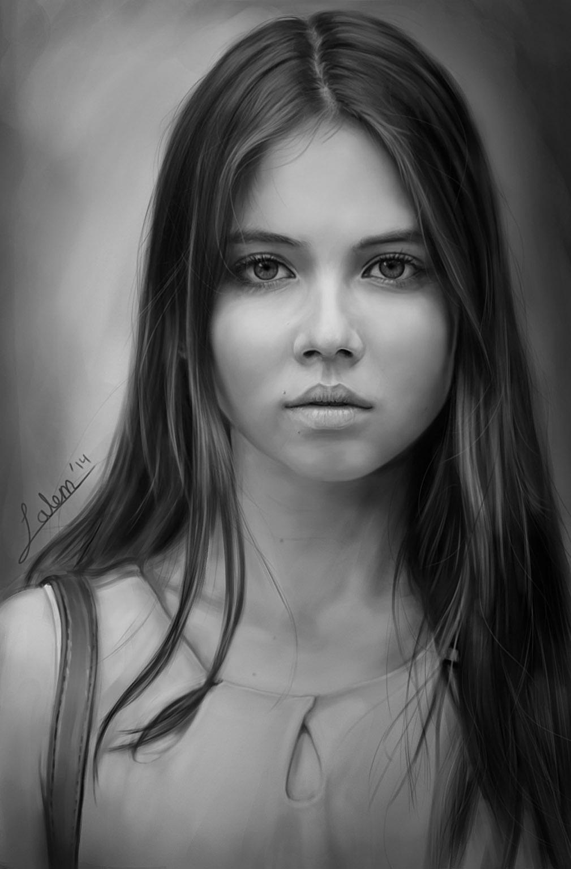 Portrait study - 8 hours session
