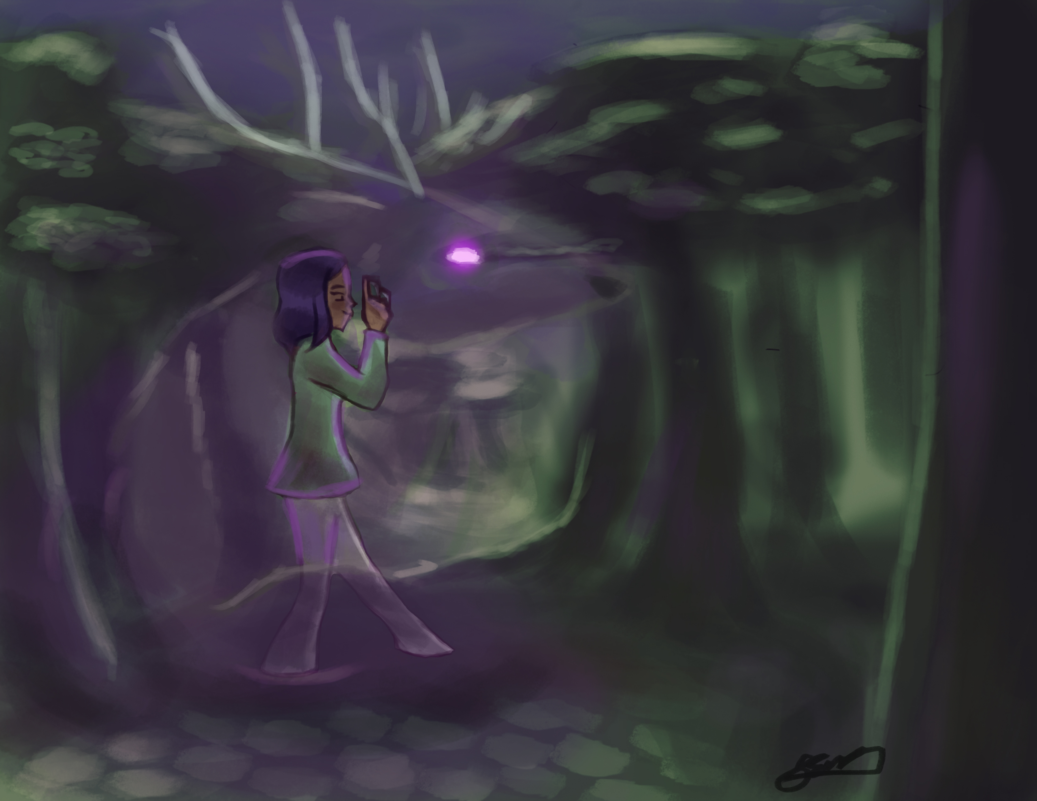 Spirit in the forest