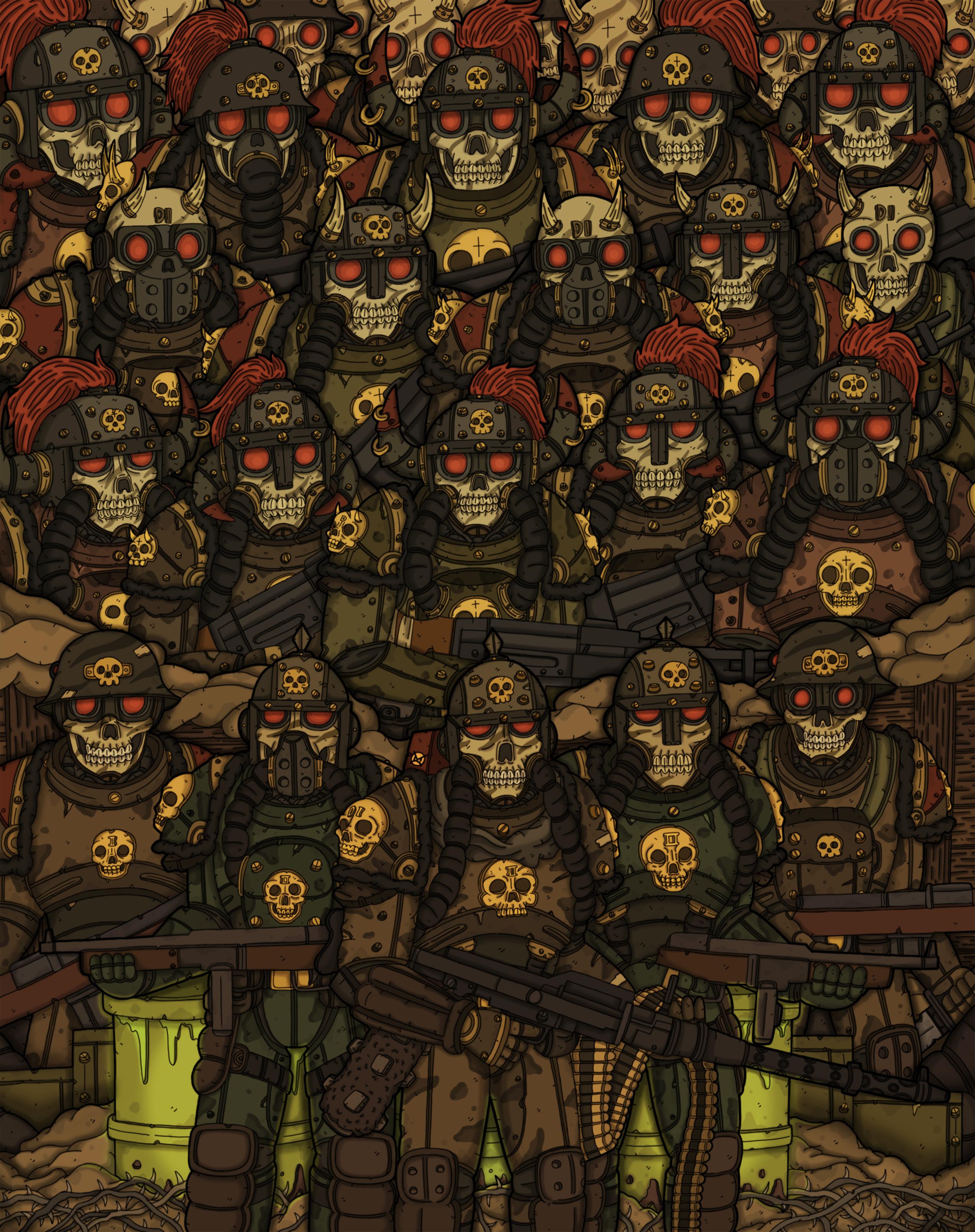 DeathInk: Deco of War