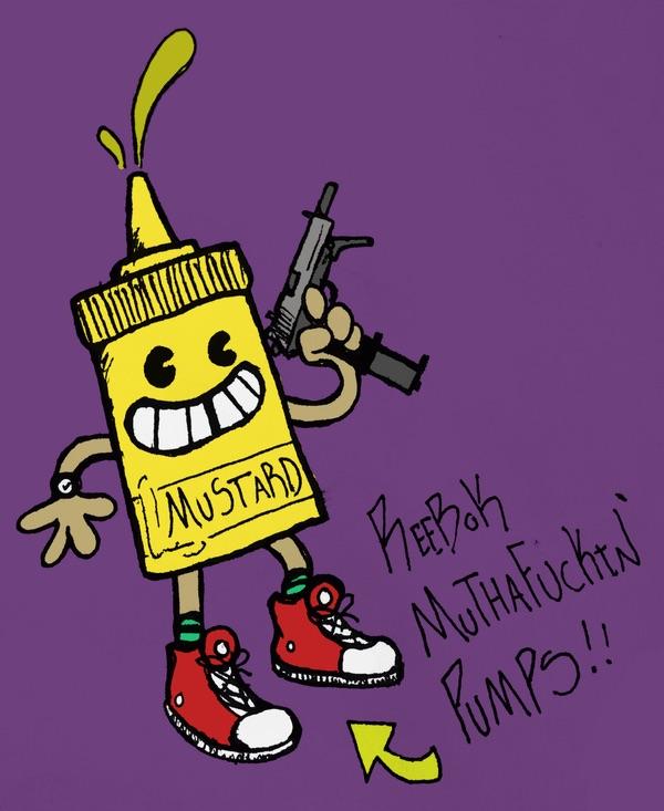 Mustard reppin the block